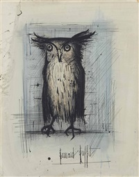 petit duc by bernard buffet