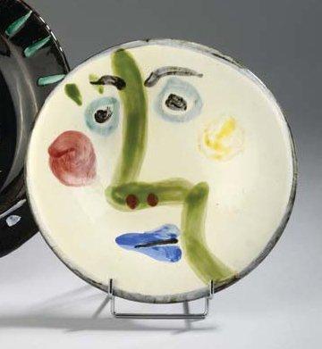 assiette visage by pablo picasso