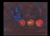 pot and the fruits by kato toichi