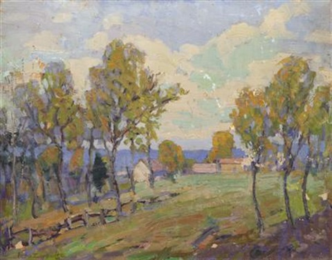october woods by fern isabel coppedge
