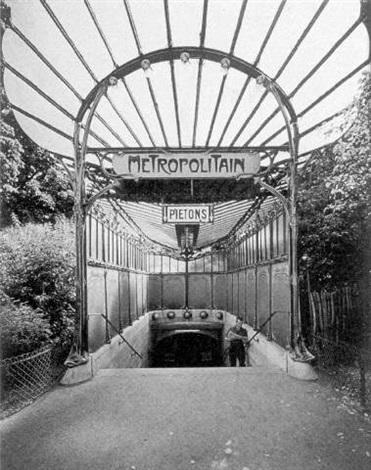 metropolitan, paris by evelyn hofer