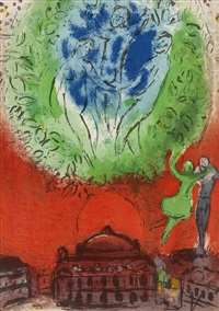 the opera by marc chagall