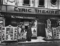 lyric theatre, 100 third avenue, manhattan by berenice abbott