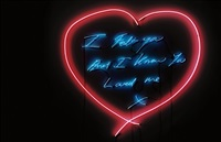 i felt you and i know you loved me by tracey emin