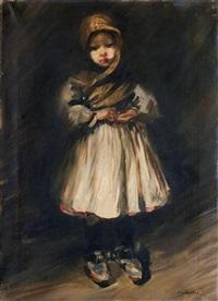 giovane fanciulla by lino selvatico