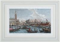 regata dal palazzo balbi a riato 3. regate depuis le palais balbi jusqu a rialto by antonio visentini