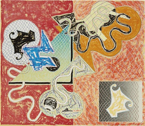 shards iv by frank stella