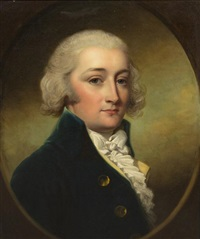 portrait of thomas townley parker by john russell