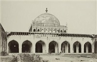 the jumma mosque from the courtyard, bijapur by thomas biggs