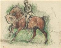 la promenade des chevaux by edgar degas