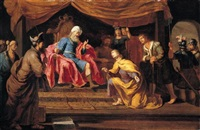 joseph interpreting pharaoh's dreams by philip gyselaer