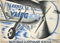 leert vliegen, nationale luchtvaart school by kees van der laan