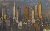 cityscape by rudolf helmut sauter