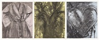 desire in primary colors (triptych) by jim dine