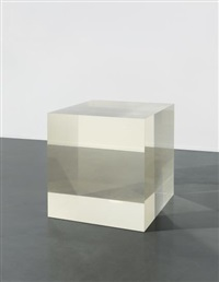 untitled (void cube) by anish kapoor