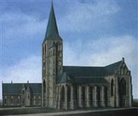 kerk te workum by barend blankert