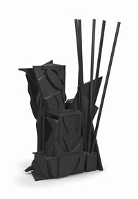u.j.a. federation sculpture (edition c) by louise nevelson