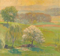 wild cherry by daniel garber