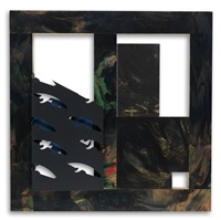 black and golden door by sam gilliam