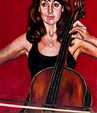 cello player by greer ralston