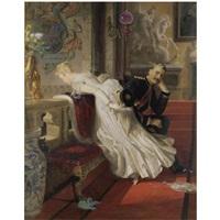 amor vincit omnia by edward henry corbould