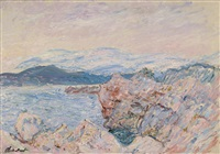 le golfe juan by claude monet