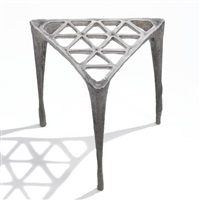 pewter stool by max lamb