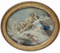 mars et vénus, étude pour un plafond by french school (17)