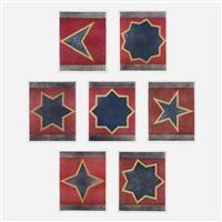 sette stelle (portfolio of 7) by sol lewitt