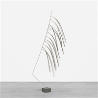 untitled (wire form) by harry bertoia