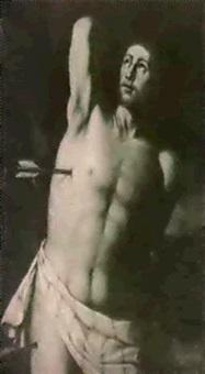 the martyrdom of saint sebast-ian by fabrizio santafede