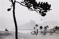 football, ipanema beach, rio de janeiro by rené burri