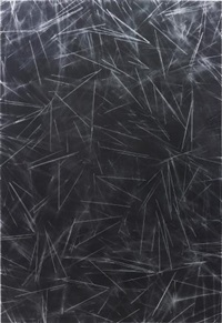 untitled (pasta painting) by scott reeder