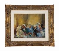 seated women by martha walter