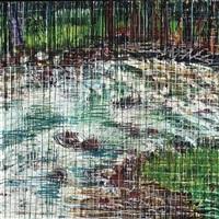aspen 6 weeks: painting #5 by jennifer bartlett