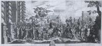 der triumphzug konstantins in rom mit der dedikation an friedrich wilhelm i. von preußen by jan van vianen