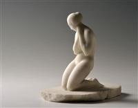 kneeling by josef axman