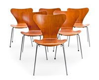 chairs (set of 6) by arne jacobsen