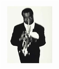 louis armstrong by richard avedon