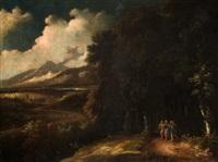 paisaje con los discipulos de emaus by gaspard dughet
