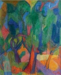forêt de chênes-liège by yves alix