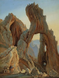 arco naturale, capri by thomas fearnley