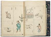 kôchô ryakuga (2 vols) by ueda kocho
