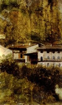 paesaggio by arnaldo zuccari