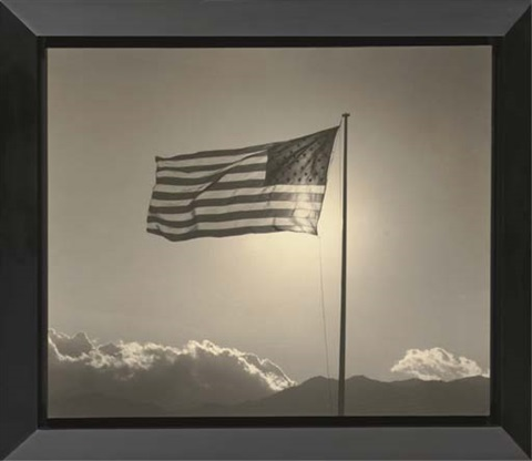 american flag by robert mapplethorpe