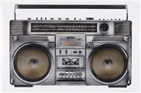 untitled (from the boombox series) by lyle owerko