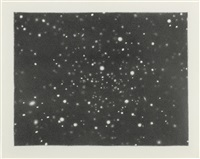 galaxy (hydra) by vija celmins