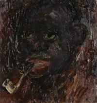 portrait d'un personnage de couleur by jean puy