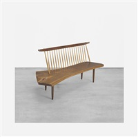 conoid bench by george nakashima
