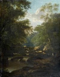 paysage de cascade by patrick nasmyth